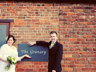 The Granary entrance sign.